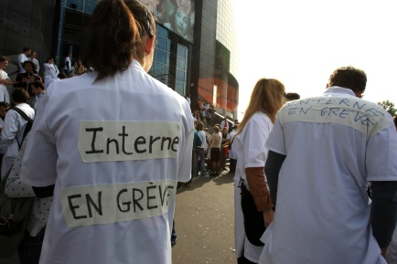Interne en grève